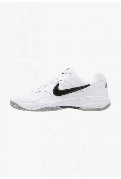 Nike COURT LITE - Baskets tout terrain white/black/medium grey liquidation