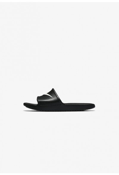 Nike KAWA SHOWER - Sandales de bain black/white liquidation