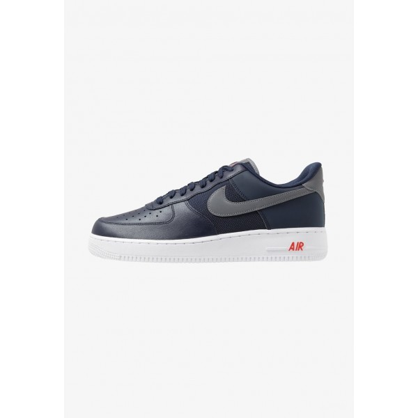 Nike AIR FORCE 1 '07 LV8 - Baskets basses obsidian/cool grey/team orange liquidation