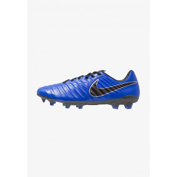 Black Friday 2020 | Nike TIEMPO LEGEND 7 PRO FG - Chaussures de foot à crampons racer blue/black/metallic silver liquidation