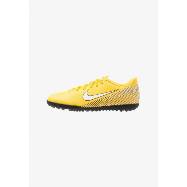 Black Friday 2020 | Nike MERCURIAL VAPORX 12 CLUB NJR TF - Chaussures de foot multicrampons amarillo/white/black liquidation