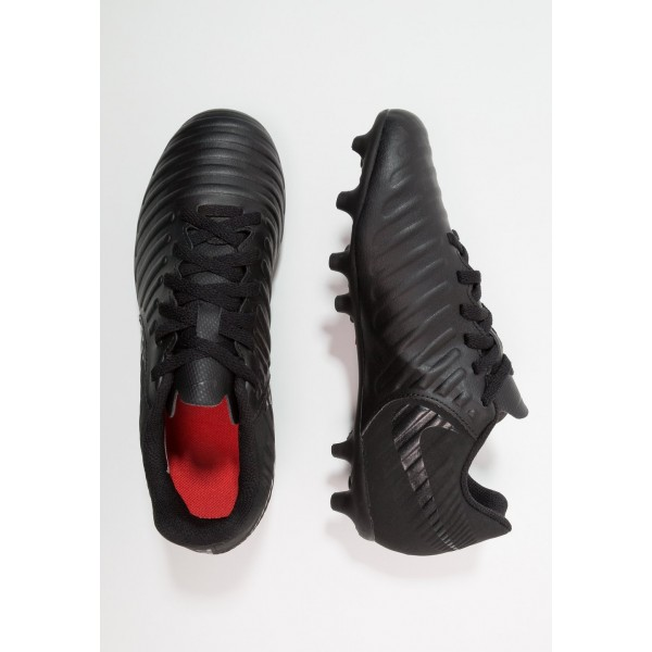 Nike TIEMPO LEGEND 7 CLUB MG - Chaussures de foot à crampons black/light crimson liquidation