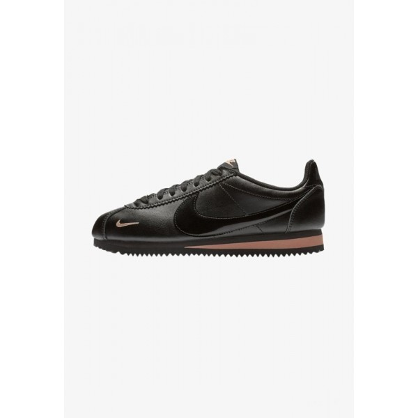 Nike CORTEZ - Baskets basses black/rose gold liquidation
