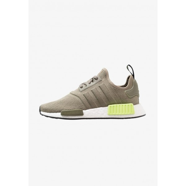 Adidas NMD_R1 - Baskets basses trace cargo/solar yellow pas cher