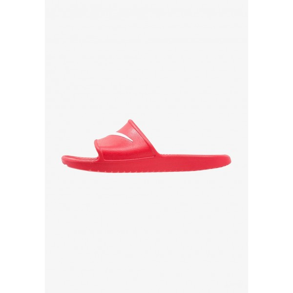 Nike KAWA SHOWER - Sandales de bain university red/white liquidation
