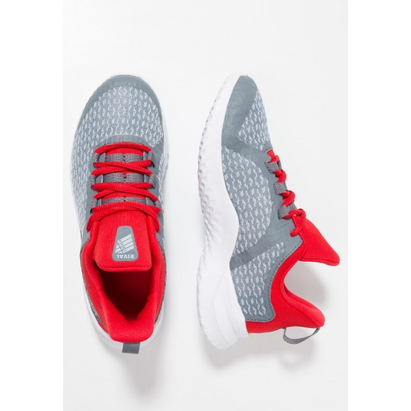 Nike RIVAL - Chaussures de running neutres cool grey/black/red orbit liquidation