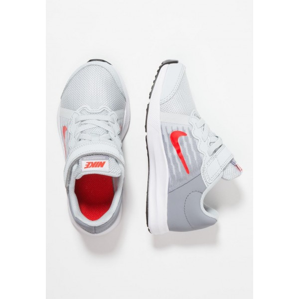 Nike DOWNSHIFTER 8 - Chaussures de running neutres pure platinum/habanero red/black liquidation