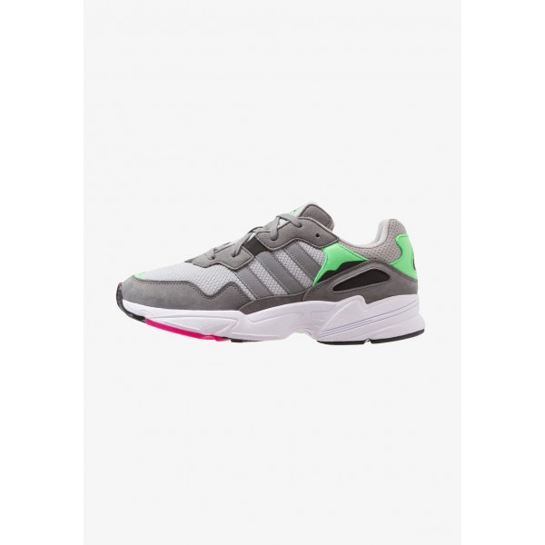 Adidas YUNG-96 - Baskets basses grey two/grey three/shock pink pas cher