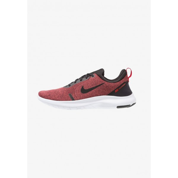 Nike FLEX EXPERIENCE RN 8 - Chaussures de course neutres black/red orbit/university red/white liquidation