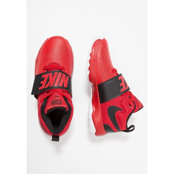 Nike TEAM HUSTLE D 8 - Chaussures de basket universal red/black/white liquidation
