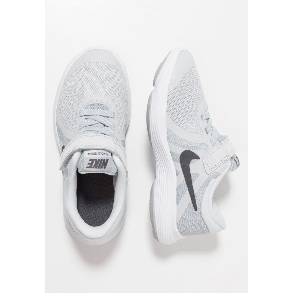 Nike REVOLUTION 4 - Chaussures de running neutres pure platinum/dark grey/wolf grey/white liquidation