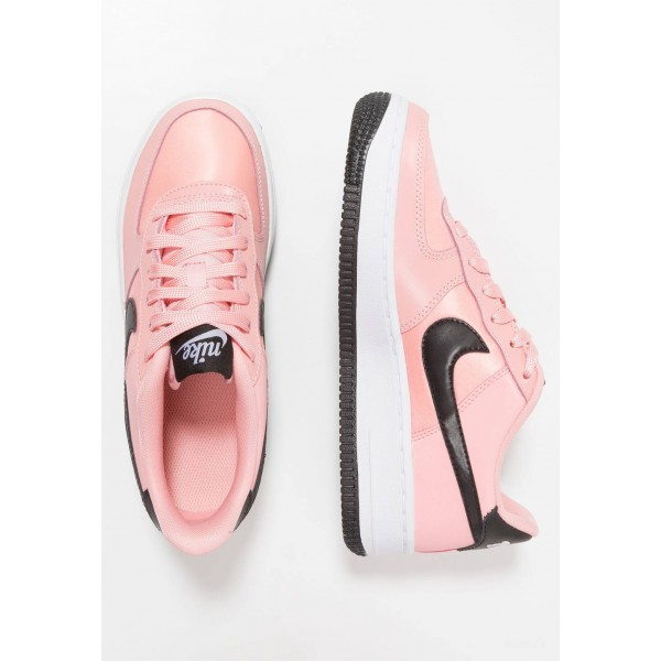 Nike AIR FORCE - Baskets basses bleached coral/black/white liquidation