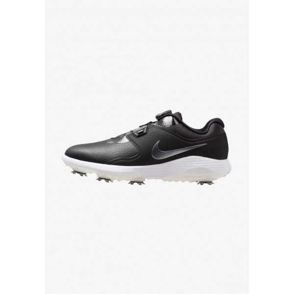 Nike VAPOR PRO BOA - Chaussures de golf black/metallic cool grey/white/volt liquidation