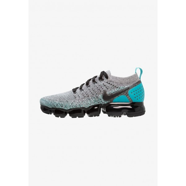 Nike AIR VAPORMAX FLYKNIT - Chaussures de running neutres white/black/dusty cactus liquidation