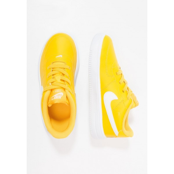 Nike FORCE 1 18 - Chaussures premiers pas amarillo/white liquidation
