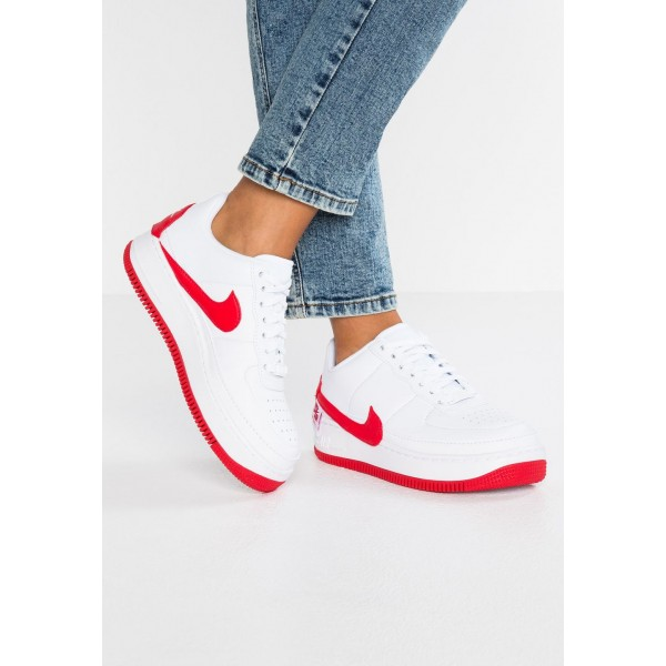 Cadeaux De Noël 2019 Nike AF1 JESTER - Baskets basses white/university red liquidation