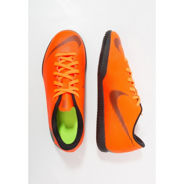 Nike MERCURIAL VAPORX 12 CLUB IC - Chaussures de foot en salle total orange/white/volt/black liquidation