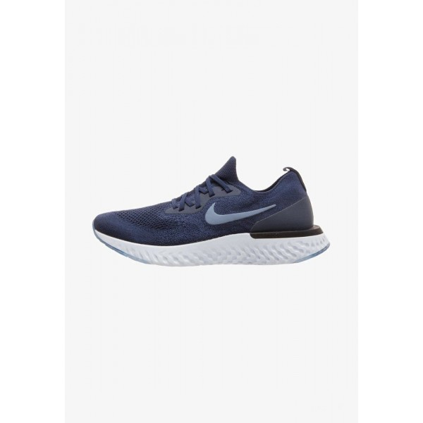 Nike EPIC REACT - Chaussures de running neutres college navy/difused blue/football grey liquidation