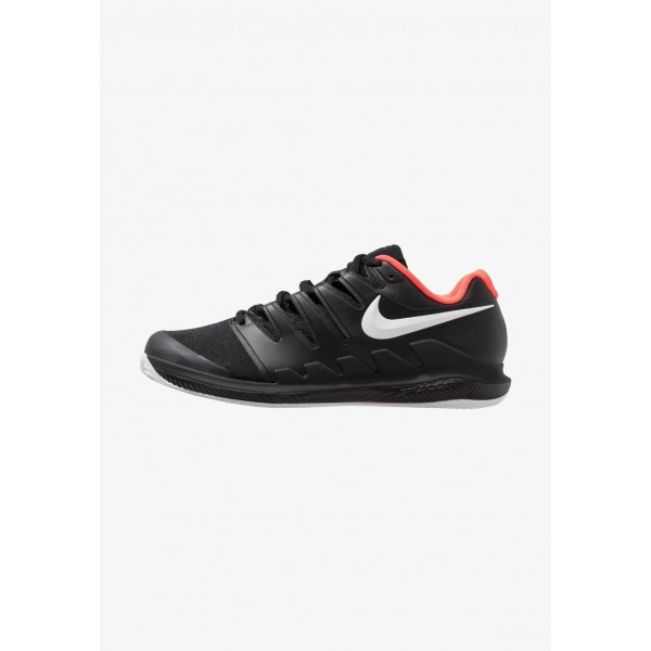 Black Friday 2020 | Nike AIR ZOOM VAPOR X CLAY - Chaussures de tennis sur terre battue black/white/bright crimson liquidation