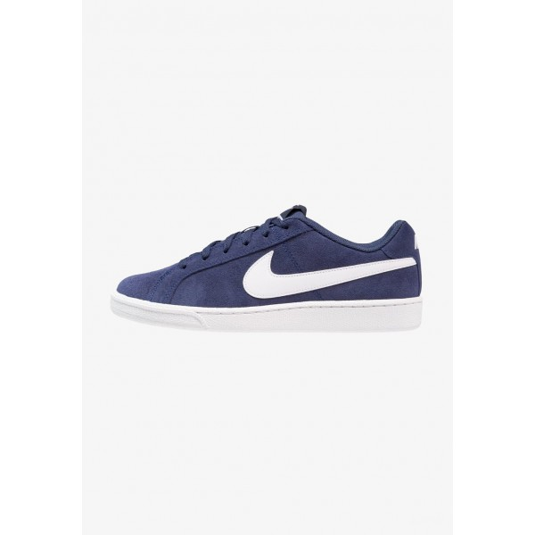 Nike COURT ROYALE SUEDE - Baskets basses midnight navy/white liquidation