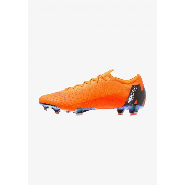 Black Friday 2020 | Nike MERCURIAL VAPOR 12 ELITE FG - Chaussures de foot à crampons total orange/white/volt liquidation