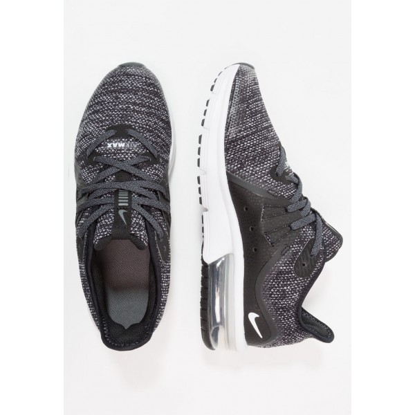 Nike AIR MAX SEQUENT 3 - Chaussures de running neutres black/dark grey/white/metallic hematite liquidation