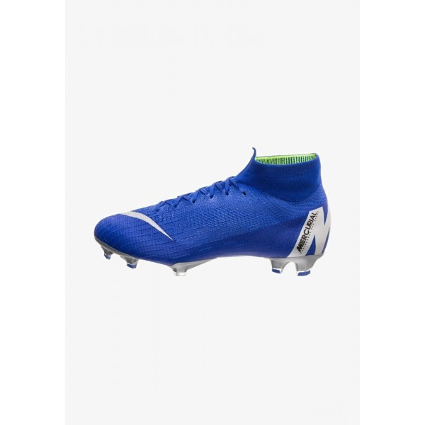 Nike MERCURIAL ELITE - Chaussures de foot à crampons racer blue/metallic silver/black liquidation