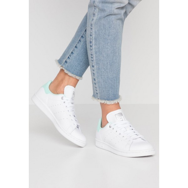 Adidas STAN SMITH - Baskets basses footwear white/silver metallic/clear mint pas cher