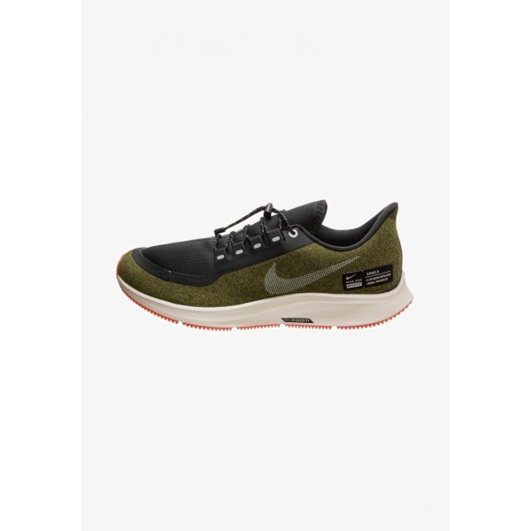 Nike AIR ZOOM PEGASUS 35 SHIELD - Chaussures de running neutres olive liquidation