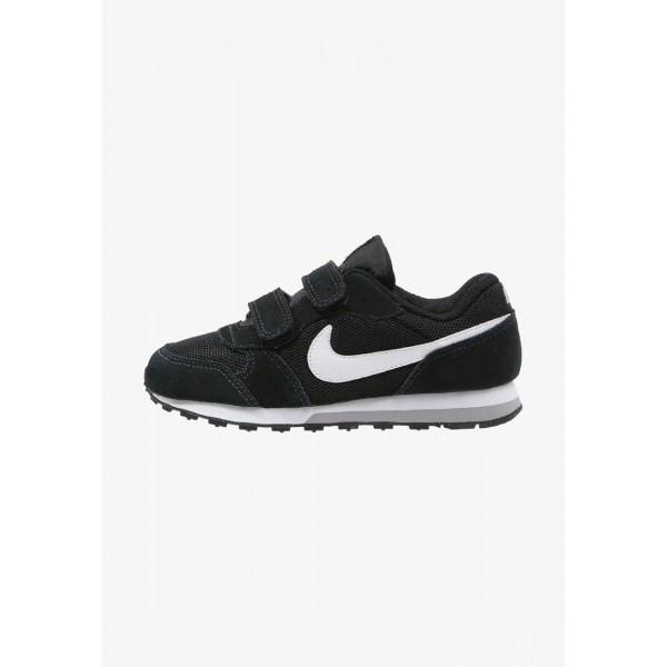 Nike MD RUNNER 2 - Baskets basses black/white/wolf grey liquidation