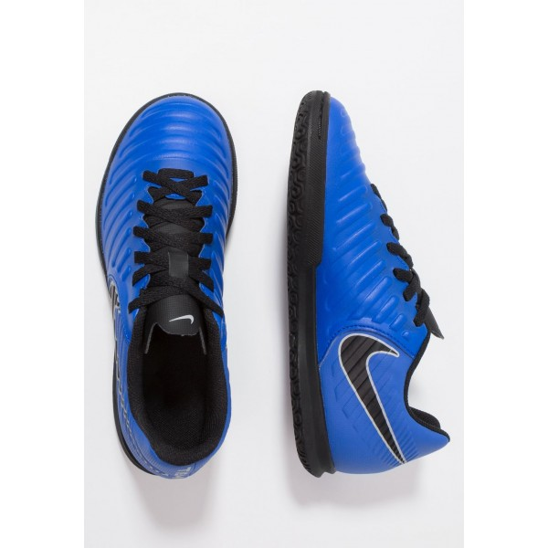 Nike TIEMPO LEGENDX 7 CLUB IC - Chaussures de foot en salle racer blue/black/wolf grey liquidation