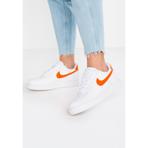 Nike AIR FORCE 1'07 - Baskets basses white/total orange liquidation