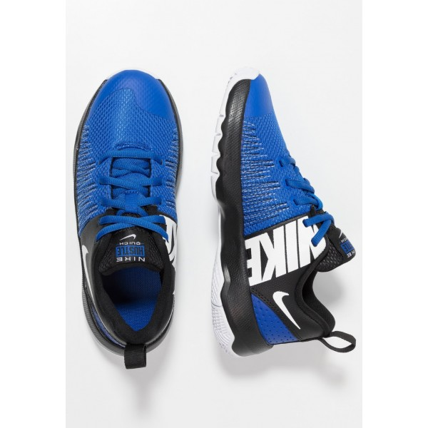 Nike TEAM HUSTLE QUICK - Chaussures de basket game royal/white/black liquidation