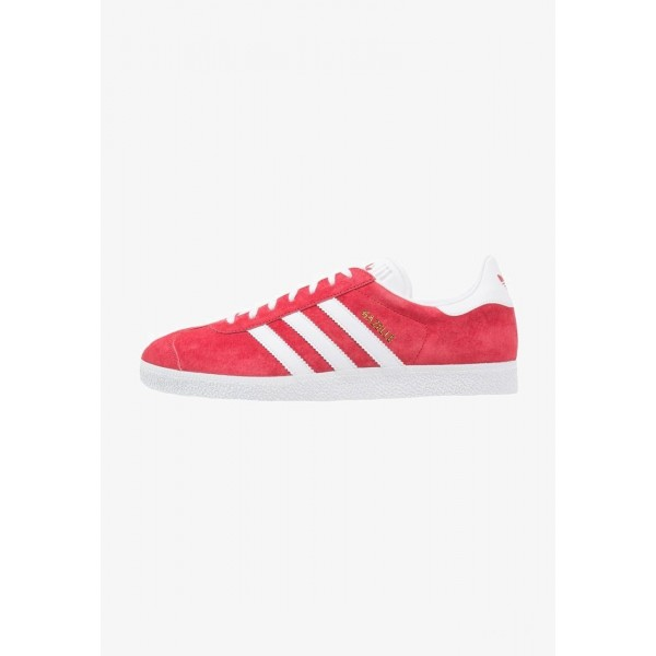 Adidas GAZELLE - Baskets basses scarlet/white/gold met pas cher