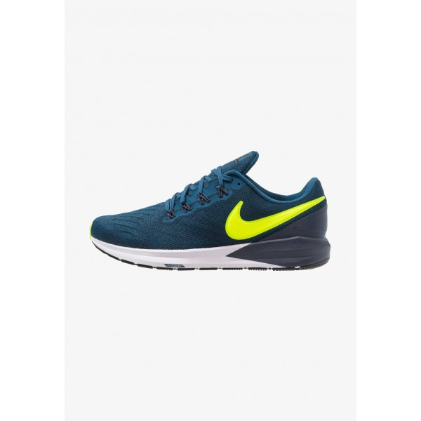 Black Friday 2020 | Nike AIR ZOOM STRUCTURE  - Chaussures de running stables blue force/volt/thunder blue/black/white liquidation