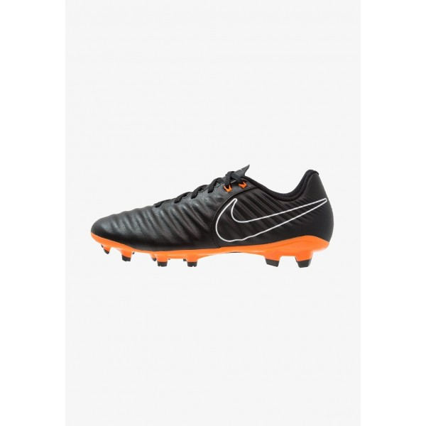 Black Friday 2020 | Nike LEGEND 7 ACADEMY FG - Chaussures de foot à crampons black/total orange/white liquidation