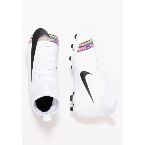 Black Friday 2020 | Nike CLUB CR7 MG - Chaussures de foot à crampons white/black liquidation