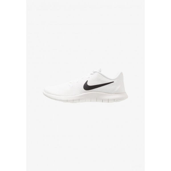 Black Friday 2020 | Nike FLEX CONTACT 2 - Chaussures de running compétition summit white/black/white liquidation