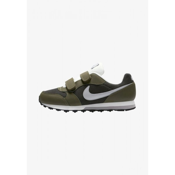 Nike MD RUNNER 2 - Baskets basses sequoia/olive canvas/sail/wolf grey liquidation