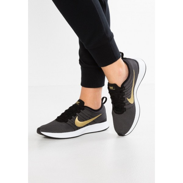 Nike DUALTONE RACER SE - Baskets basses black/metallic gold/dark grey/white liquidation