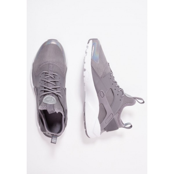 Nike AIR HUARACHE RUN ULTRA  - Baskets basses gunsmoke/metallic silver/white liquidation