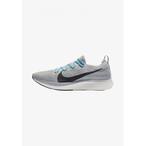 Black Friday 2020 | Nike ZOOM FLY FK - Chaussures de running neutres grey/turquoise/black liquidation
