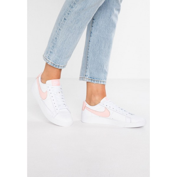 Nike BLAZER - Baskets basses white/storm pink liquidation