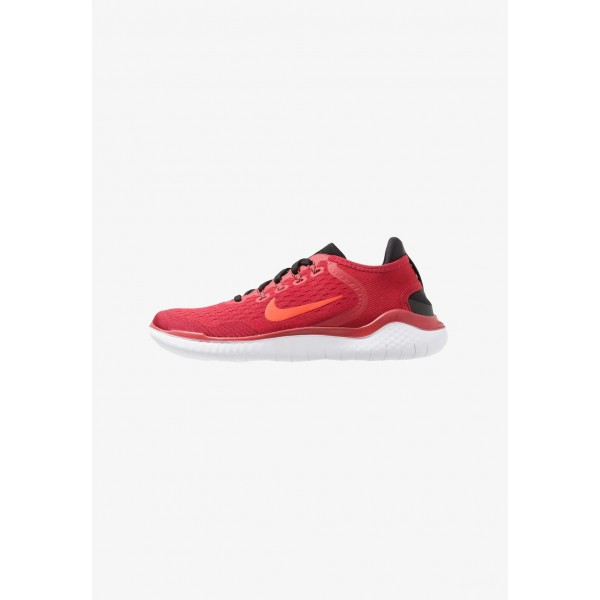 Nike FREE RN 2018 - Chaussures de course neutres gym red/bright crimson/black/team red/white liquidation