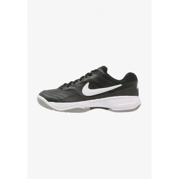 Nike COURT LITE - Baskets tout terrain black/white/medium grey liquidation