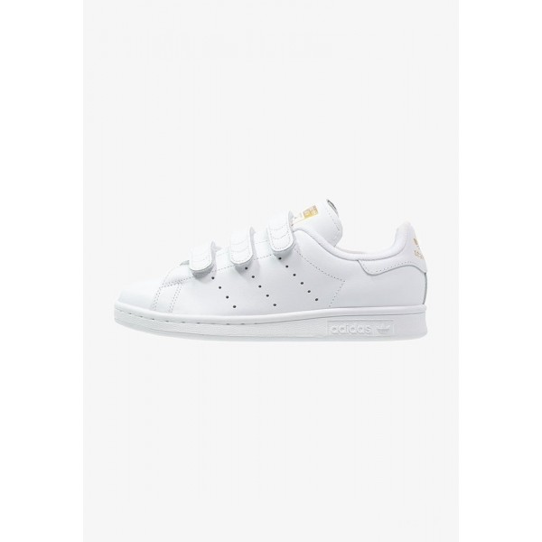 Adidas STAN SMITH  - Baskets basses weiß/gold pas cher
