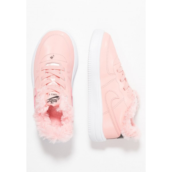Nike FORCE 1 '18 VDAY - Mocassins bleached coral/black/white liquidation