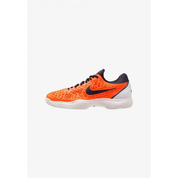 Nike AIR ZOOM CAGE 3 HC - Chaussures de tennis sur terre battue hyper crimson/gridiron/white/phantom liquidation