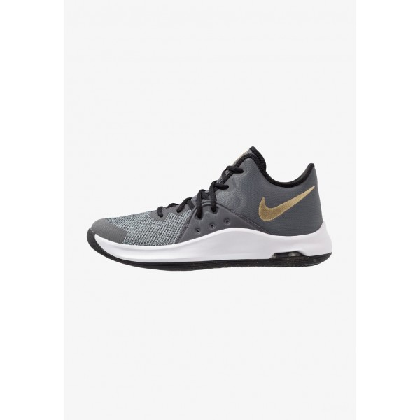 Black Friday 2020 | Nike AIR VERSITILE III - Chaussures de basket black/metallic gold/dark grey/white liquidation