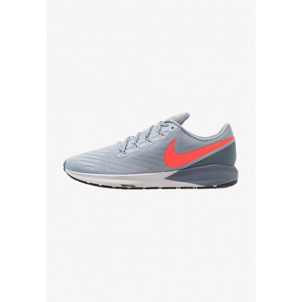 Black Friday 2020 | Nike AIR ZOOM STRUCTURE  - Chaussures de running stables obsidian mist/bright crimson/armory blue liquidation